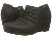 Dansko Sheena Black Nubuck Women's Boots