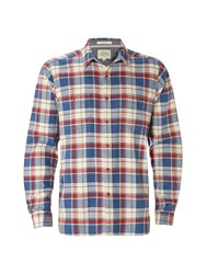 White Stuff Men's Logan Flannel Check Long Sleeve Shirt Multi Coloured Multi Coloured