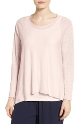 Eileen Fisher Women's Organic Linen Blend Swing Sweater