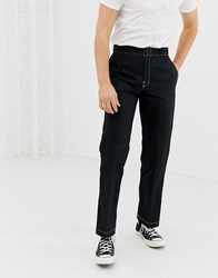 Dickies 874 Work Pant Chino With Contrast Stitch In Black