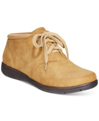 Easy Street Shoes Easy Street Nomad Booties Women's Shoes Camel
