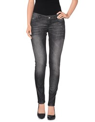 Guess Denim Denim Trousers Women Steel Grey