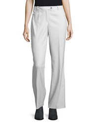 Calvin Klein Textured Straight Leg Dress Pants Grey