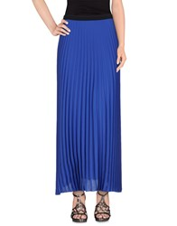 1 One Skirts Long Skirts Women Blue