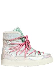 Sophia Webster 40Mm Quentin Glitter Snow Boots