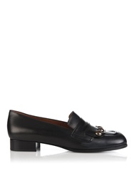 Tomas Maier Studded Leather Loafers