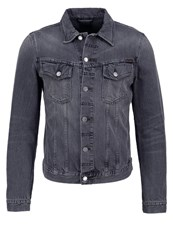 Nudie Jeans Billy Denim Jacket Desolation Grey Grey Denim