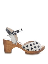 Sophia Webster Ava Polka Dot Print Sandals