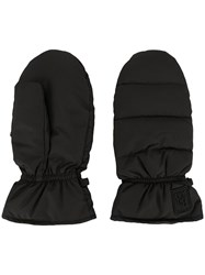 Bacon Padded Mittens Black