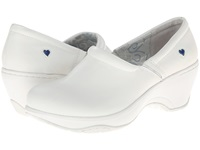Nurse Mates Bryar White Women's Clog Shoes