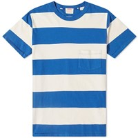 Levi's Vintage Clothing 1960'S Casual Stripe Tee Blue