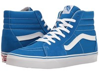 Vans Sk8 Hi Suede Canvas Imperial Blue True White Skate Shoes