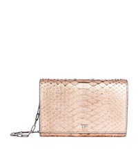 Tom Ford Python Wallet Clutch Bag Pink