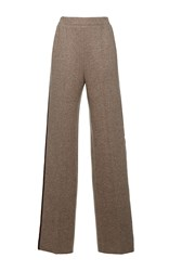 Agnona Platino Jersey Coulisse Pant Nude