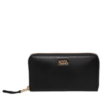 Karl Lagerfeld K Grainy Zip Around Wallet
