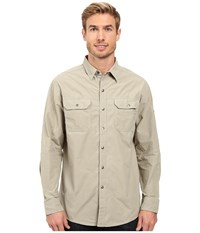 Kuhl Kompakt Long Sleeve Shirt Khaki Men's Long Sleeve Button Up