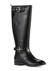 Nine West Bringit Riding Boots Black