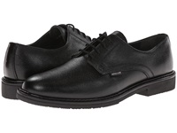 Mephisto Marlon Black Pebble Grain Leather Men's Plain Toe Shoes
