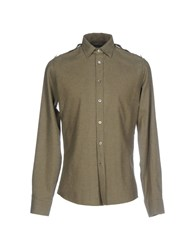Commune De Paris 1871 Shirts Military Green