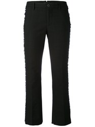 Pt01 Jaine Trousers Women Cotton Spandex Elastane 40 Black