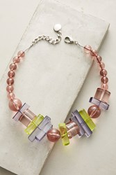 Anthropologie Azores Choker Necklace Pink