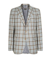 Billionaire Large Check Blazer Male