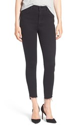 Mother Women's 'The Stunner' Frayed Ankle Skinny Jeans Not Guilty