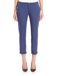 Ag Jeans Cigarette Roll Up Pants Colonial Blue