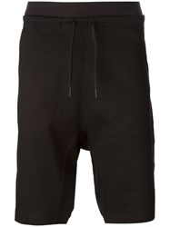 Y 3 'Lux' Track Shorts Black