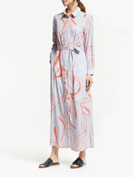 Great Plains Ava Abstract Dress Misty Lilac