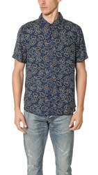 Native Youth Sundance Shirt Navy