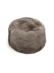 Sherry Cassin Mink Hat Light Brown