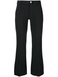 Versace Collection Classic Cropped Trousers Black