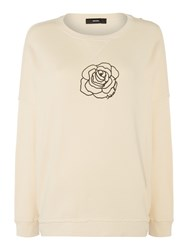 Diesel F Gertrude Z Sweat Shirt White
