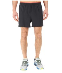 New Balance Impact 5 Track Short Black Multi Chrome Red Men's Shorts