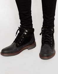 Firetrap Hiker Walking Boots Black