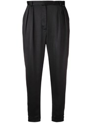 Styland Tapered Trousers Black
