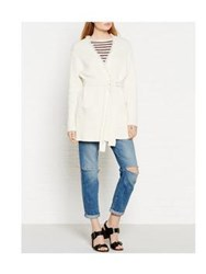 By Malene Birger Agnetas Wrap Cardigan With Tassel Detail Off White