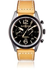 Bell And Ross Br 126 Heritage Watch Black