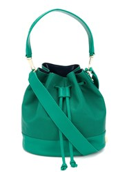 Elizabeth And James Drawstring Shoulder Bag Green