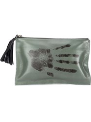 Newbark Small 'Monkey's Hand' Clutch Green