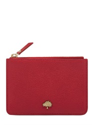 Mulberry Classic Grained Lather Coin Purse