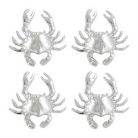 Marinette Saint Tropez Crab Napkin Ring Set Of 4