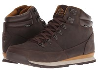 The North Face Back To Berkeley Redux Leather Chocolate Brown Golden Brown Hiking Boots