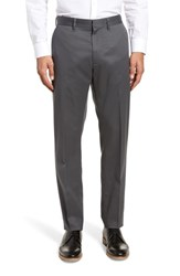 Nordstrom Shop Athletic Fit Non Iron Chinos Grey Gate