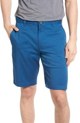 Rvca Men's The Week End Twill Chino Shorts Dark Blue