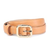 A.P.C. Merima Leather Belt Brown