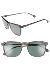 Raen Men's Wiley 54Mm Sunglasses Matte Grey Crystal