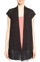 Women's Eileen Fisher Cap Sleeve Long Cardigan