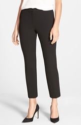 Halogen Crop Ponte Pants Regular And Petite Black